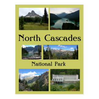 North Cascades Collage 1 Postcard