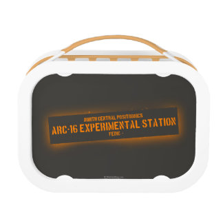 North Central Positronics Lunch Box