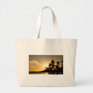 North Channel Sunset Large Tote Bag