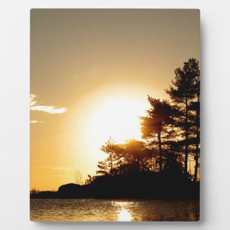 North Channel Sunset Plaque