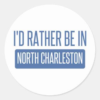 North Charleston Classic Round Sticker