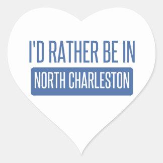 North Charleston Heart Sticker