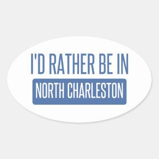 North Charleston Oval Sticker