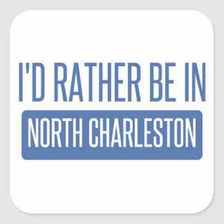 North Charleston Square Sticker
