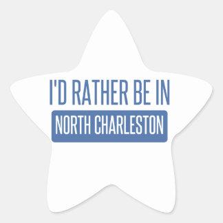 North Charleston Star Sticker