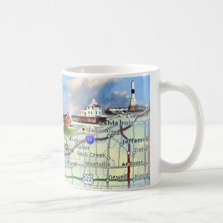 North Coast Lights Coffee Mug