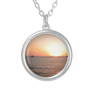 North Coast Sunset Personalized Necklace