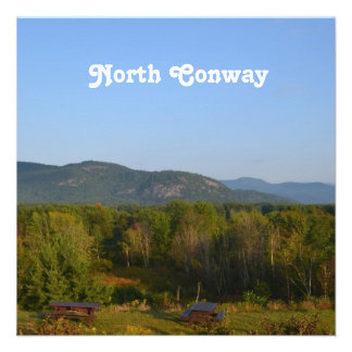 North Conway Personalized Invitation