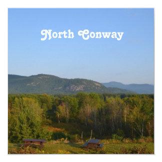 North Conway Personalized Invitation
