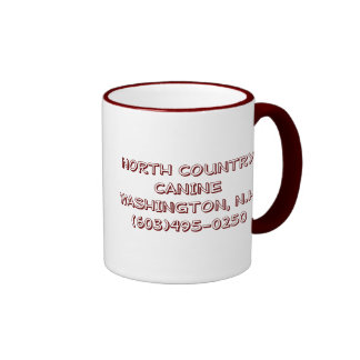 NORTH COUNTRY CANINE 2 RINGER COFFEE MUG