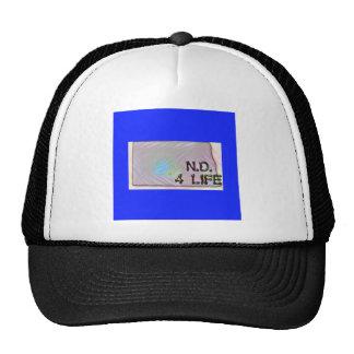 """North Dakota 4 Life"" State Map Pride Design Cap"