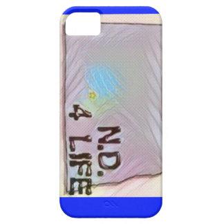 """""""North Dakota 4 Life"""" State Map Pride Design iPhone 5 Cases"""