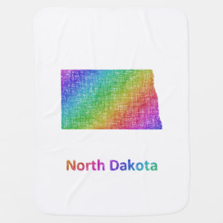 North Dakota Baby Blanket