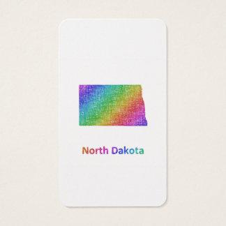 North Dakota Business Card