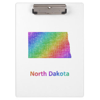North Dakota Clipboard
