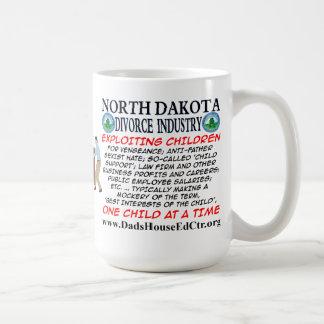 North Dakota Divorce Industry. Basic White Mug