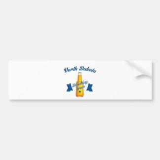 North Dakota Drinking team Bumper Sticker