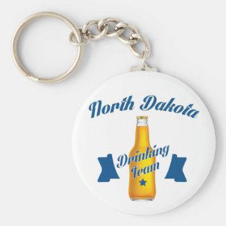 North Dakota Drinking team Key Ring