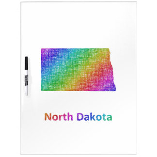 North Dakota Dry Erase Board