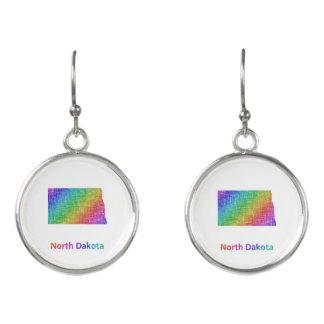 North Dakota Earrings