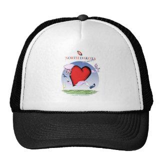 north dakota head heart, tony fernandes cap