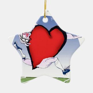 north dakota head heart, tony fernandes ceramic star decoration