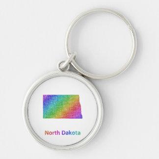 North Dakota Key Ring