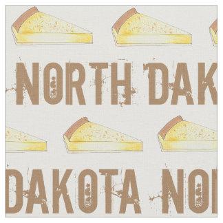 North Dakota Kuchen Custard Cake Slice ND Dessert Fabric