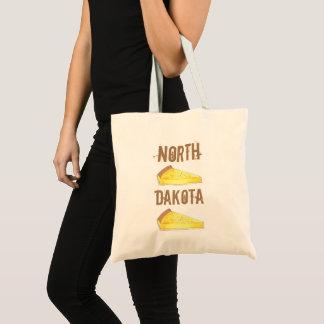 North Dakota Kuchen Custard Cake Slice ND Dessert Tote Bag