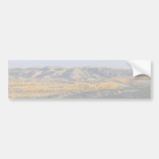 North Dakota Landscape Bumper Sticker
