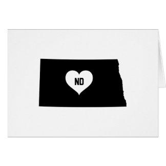 North Dakota Love Card