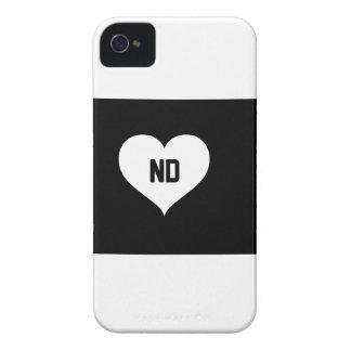 North Dakota Love Case-Mate iPhone 4 Case