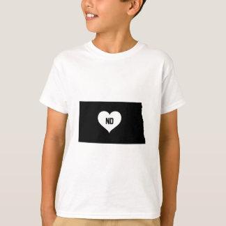 North Dakota Love T-Shirt