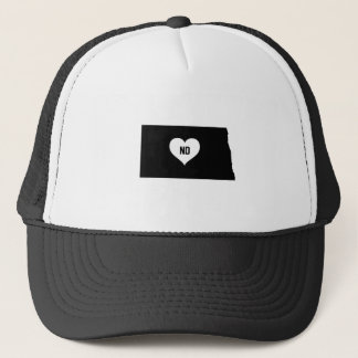 North Dakota Love Trucker Hat