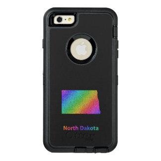 North Dakota OtterBox Defender iPhone Case