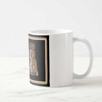 North Dakota Rig Up Camo Coffee Mug