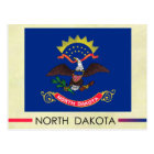 North Dakota State Flag Postcard
