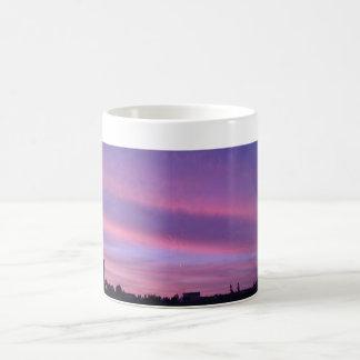 North Dakota sunset Basic White Mug