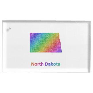 North Dakota Table Number Holder