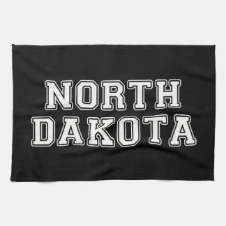 North Dakota Tea Towel