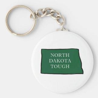 North Dakota Tough Key Ring