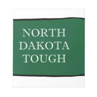 North Dakota Tough Notepad