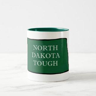 North Dakota Tough Two-Tone Coffee Mug