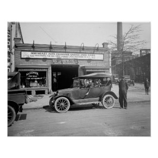 North East Auto Exchange 1926 Posters