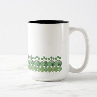 North European one fragment Two-Tone Coffee Mug