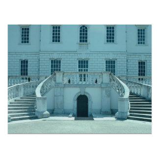 North facade, Queen's house, Greenwich, U.K. Postcard
