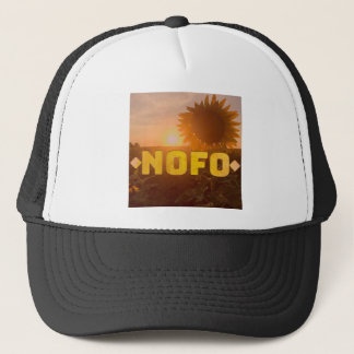 north fork nofo sunflowers trucker hat