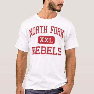 North Fork - Rebels - Middle - Quicksburg Virginia T-Shirt