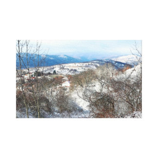 North Greece Canvas Print