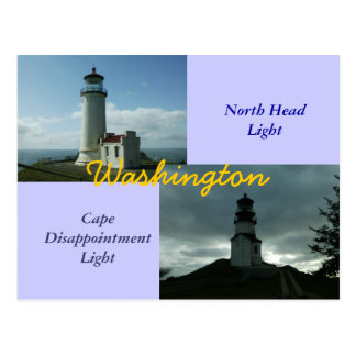 North Head Light, Cape Disappointment Postcards